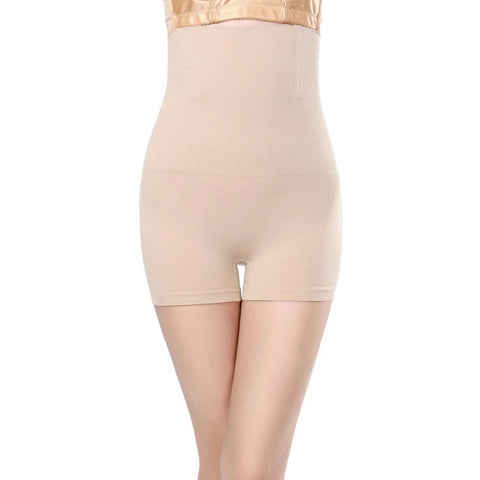 Womens skin high waist tummy control body shaper slimming pants shapewear underwear