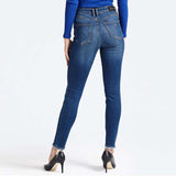 Brand Gess slim fit high rise stretchable jeans (4433646190640)