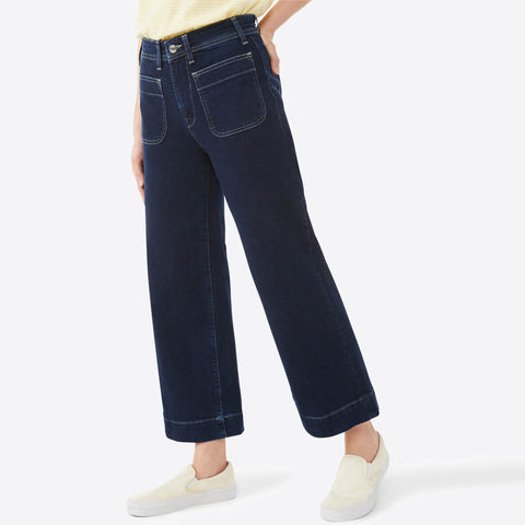 brand d&co ankle zipper stretchable jeans