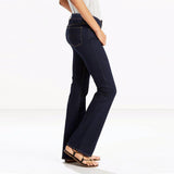 brand c-a solid navy blue solid ladies bootcut jeans (3877509201968)
