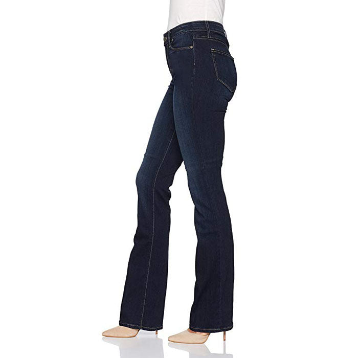 Brand c a dark faded blue stretchable boot cut ladies jeans