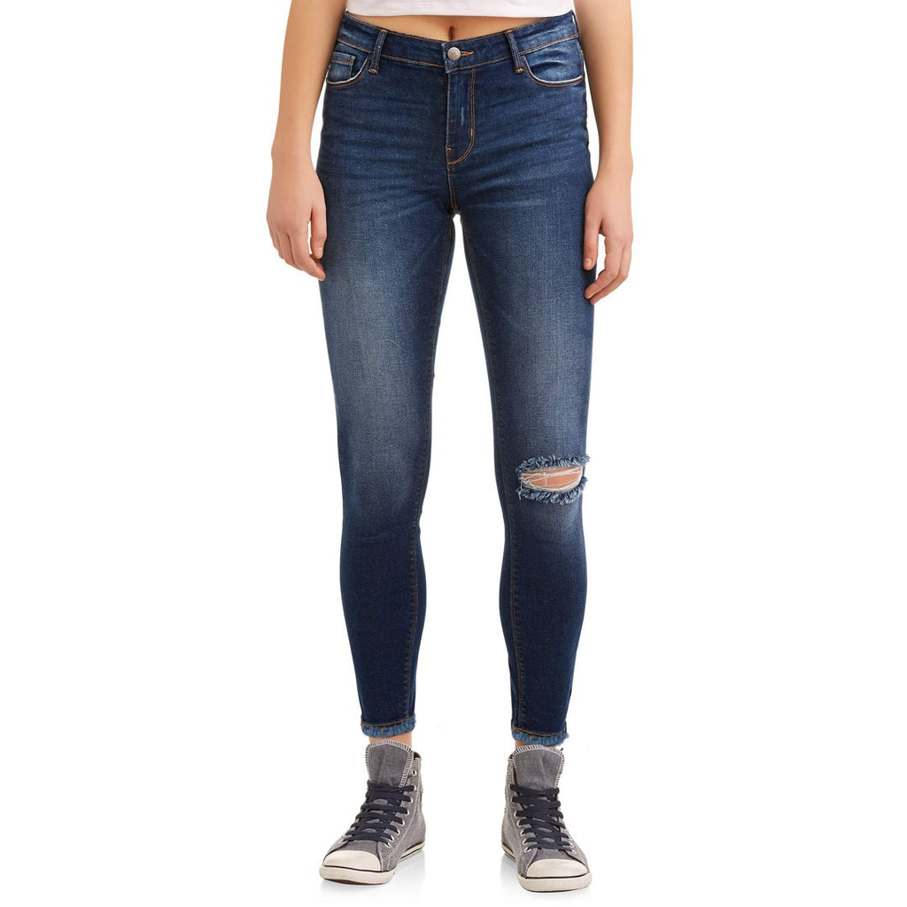 Brand EOR slim fit stretchable ripped jeans (3884192432176)