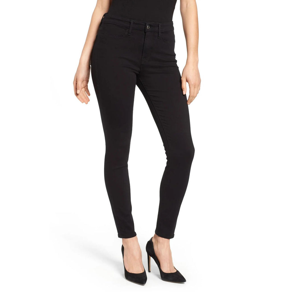wild fable skinny fit high rise jet black stretchable ladies jeans