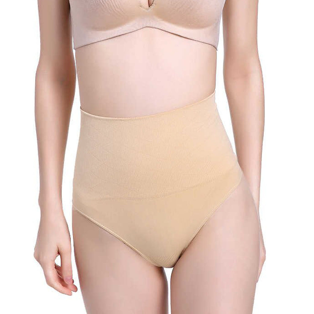 high waist shaping panties breathable body shaper slimming tummy underwear panty shapers (4460552421424)