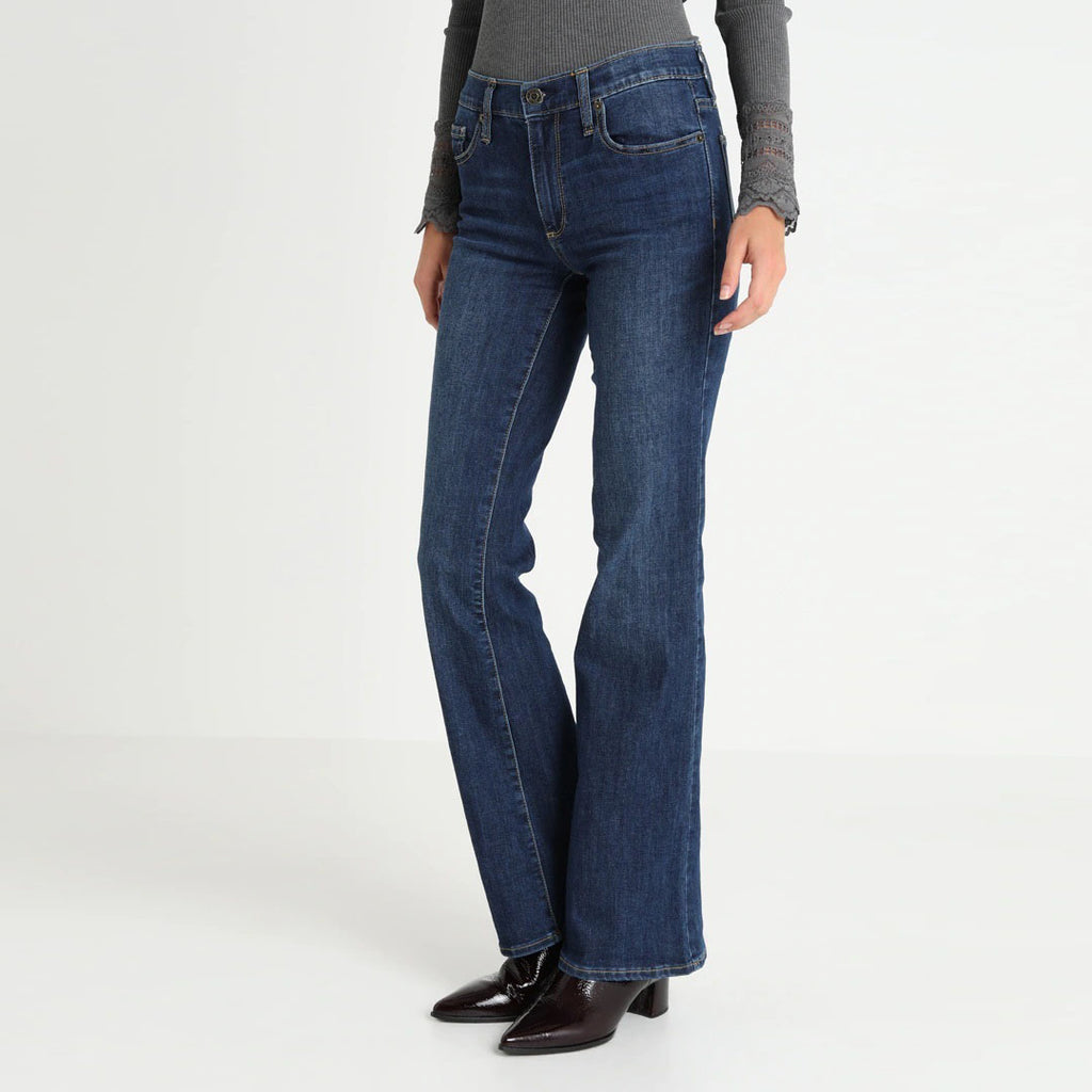 brand c-a faded medium blue ladies bootcut jeans (3877530796080)