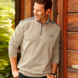 brand atls half zipper sweat shirt for mens (4328090894384)