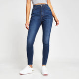 brand ed-c  side stripe skinny stretchable ladies jeans