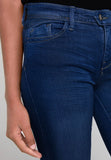 Brand only skinny fit super stretch dark blue ladies jeans (3799515988016)