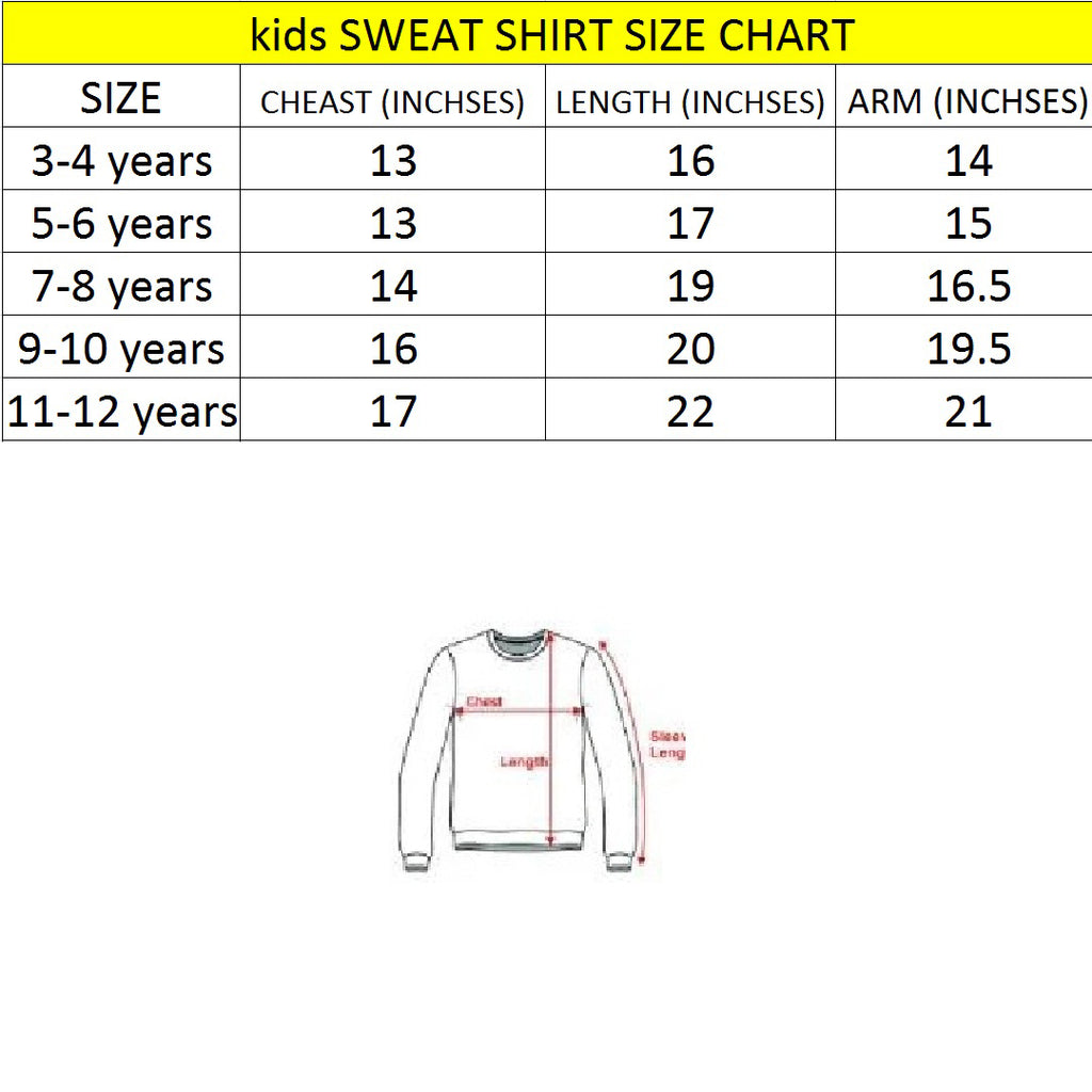 Brand TNT black painted print sweat shirt for kids (4444528214064)
