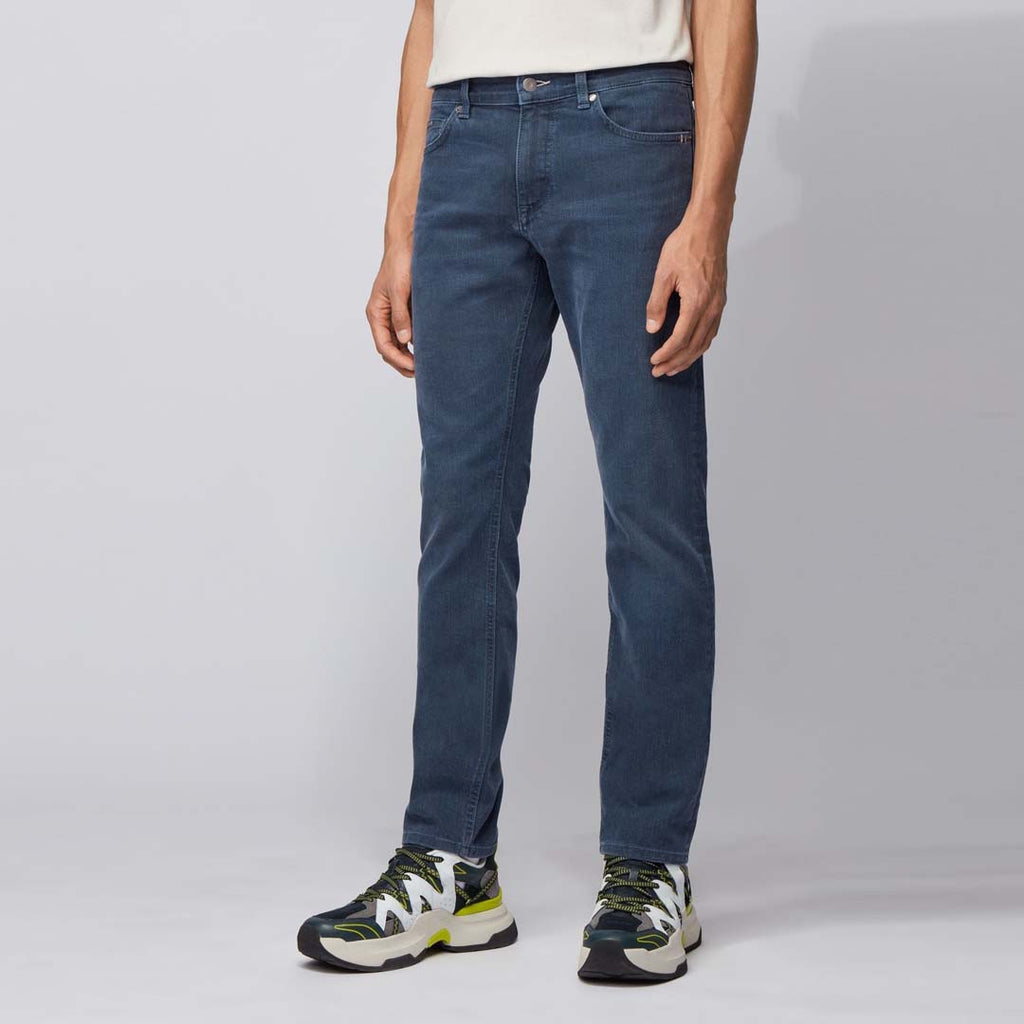 Brand hotrc slim fit stretchable greenish blue jeans