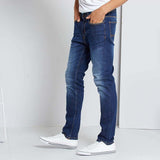 Brand K!abi slim fit stretchable roylish blue mens jeans