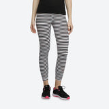 brand r.bok ladies stretchable skinny fit (blue & white) striped tights (2183826276400)