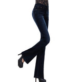 brand o-navy ladies non stretch bell bottom jeans