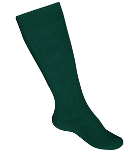 Girls Heavyweight Knee Socks Green