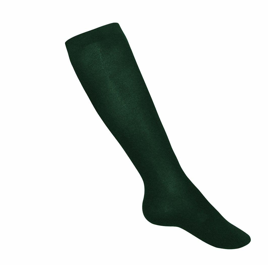 Girls Lightweight Knee Socks Green