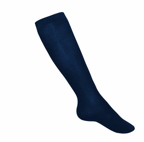 Girls Lightweight Knee Socks Navy