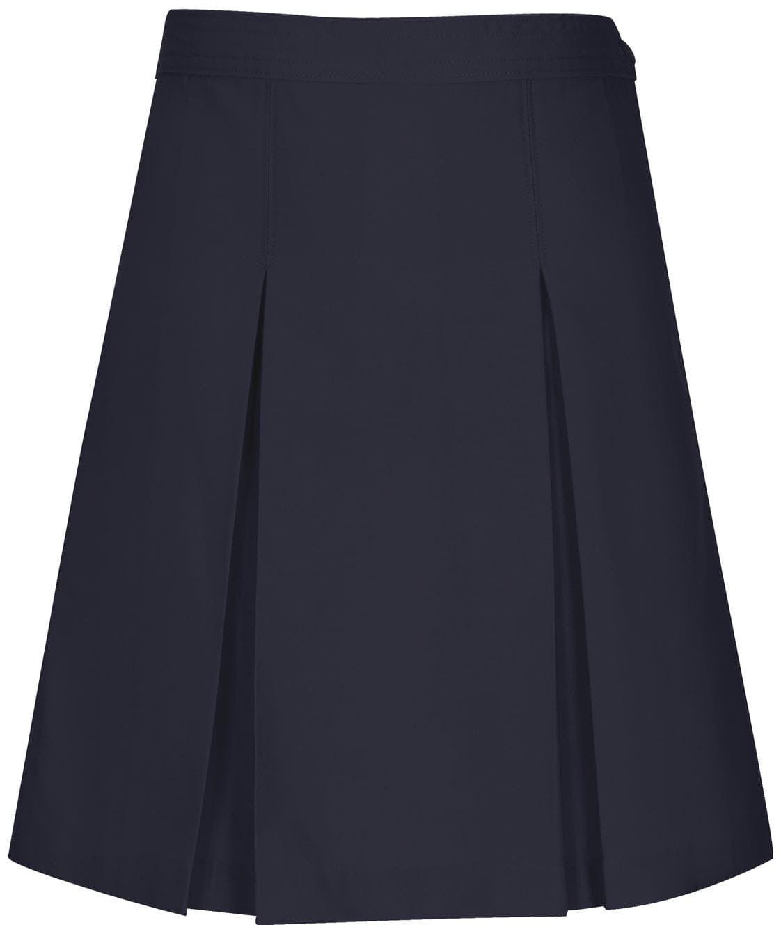 Kick Pleat Skirt - Inwood Middle - Navy