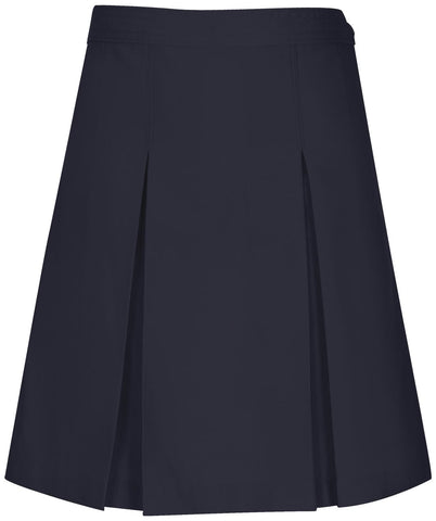 Kick Pleat Skirt - Navy