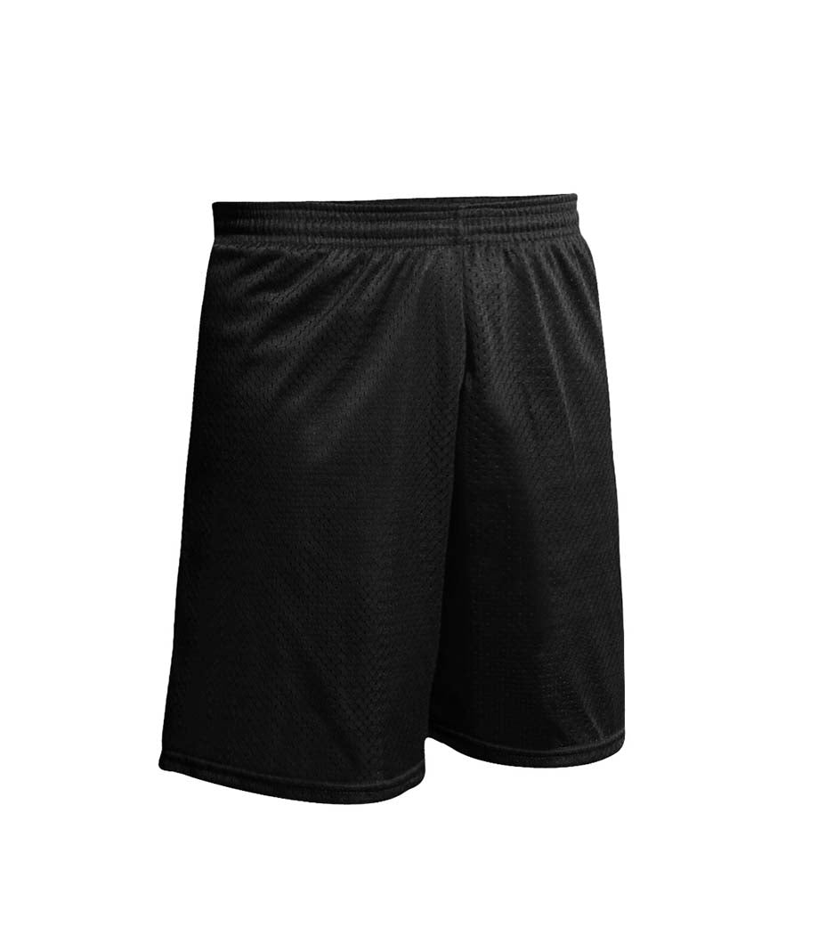 Nylon Gym Short Black