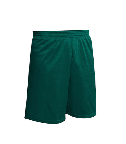 Nylon Gym Short Green