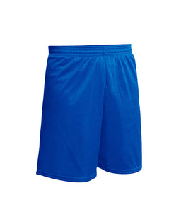 Nylon Gym Short Royal Blue