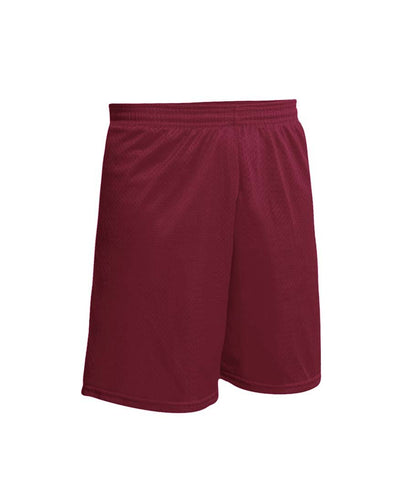 Nylon Gym Short Maroon