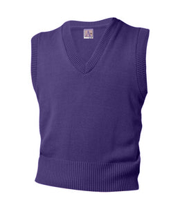 V-Neck Sleeveless Pullover - Amani - Purple