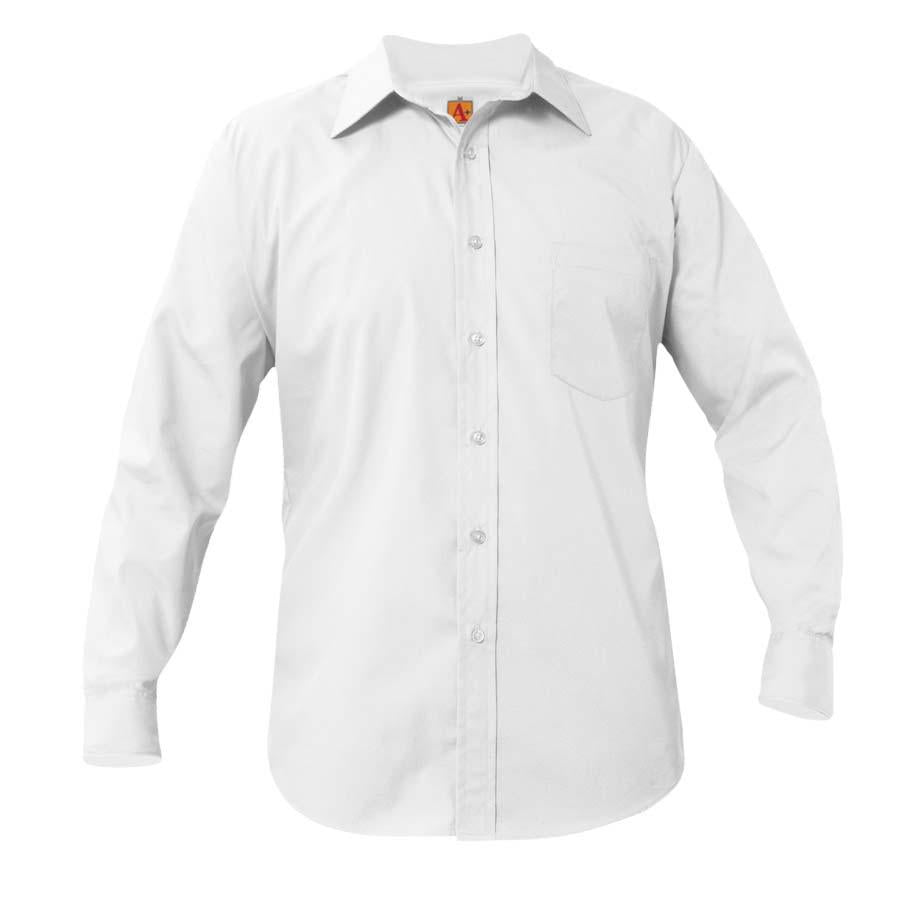 Boys Long Sleeve Dress Shirt White