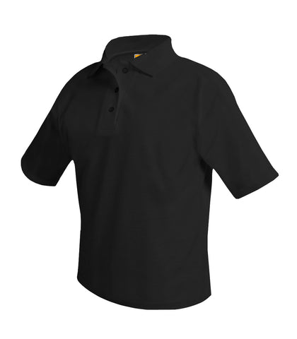 Wadleigh Short Sleeve Polo Shirt Black