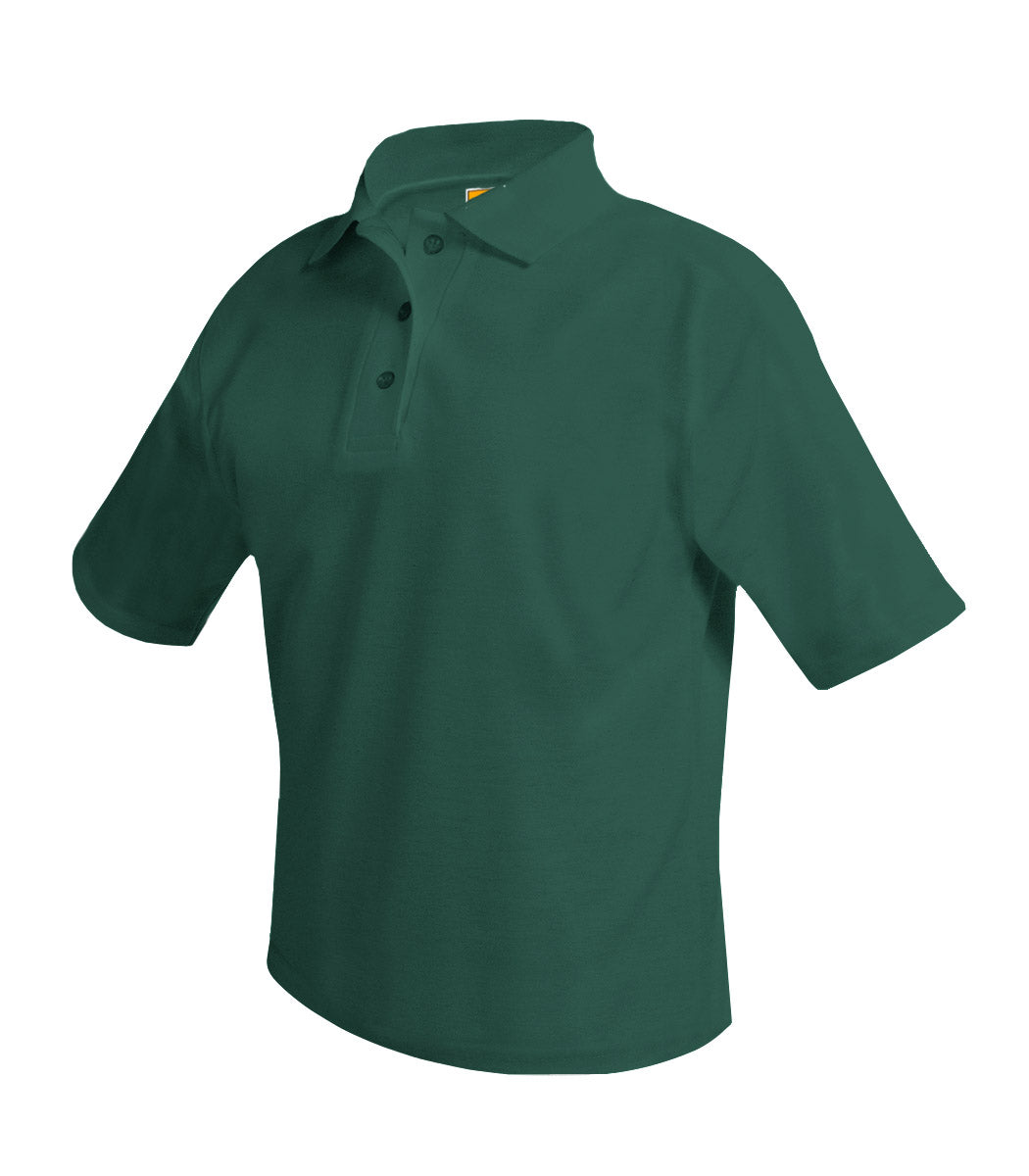 Sacred Heart Short Sleeve Polo Shirt Green