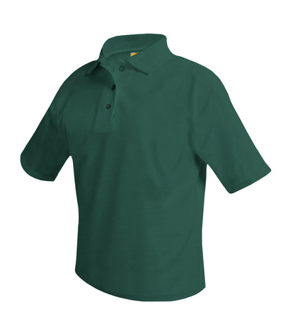 Short Sleeve Polo Shirt Green