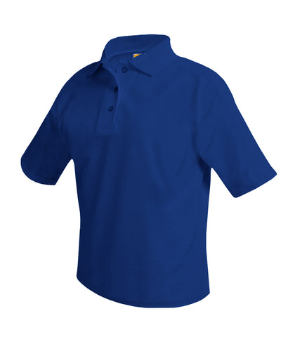 Inwood Short Sleeve Polo Shirt Royal Blue