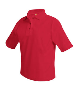 Dewitt Short Sleeve Polo Shirt Red