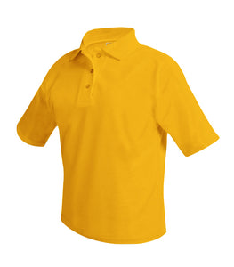 Wadleigh Short Sleeve Polo Shirt Gold