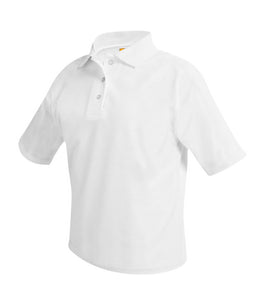 Wadleigh Short Sleeve Polo Shirt White