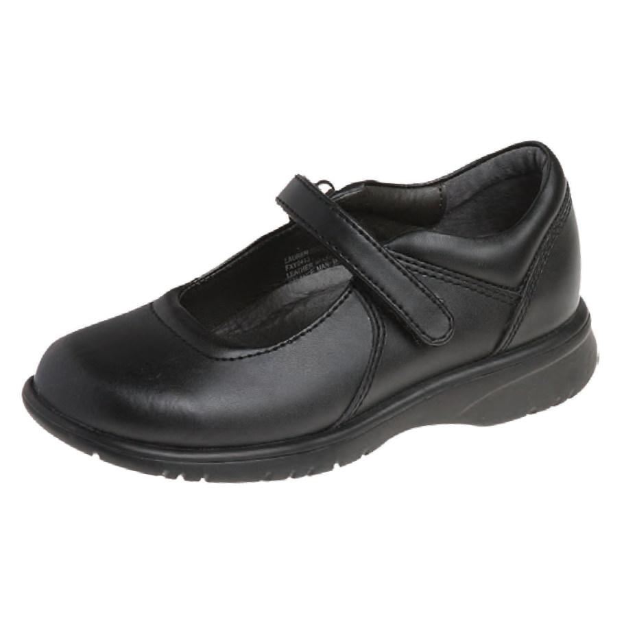 Girls Velcro Shoe Black