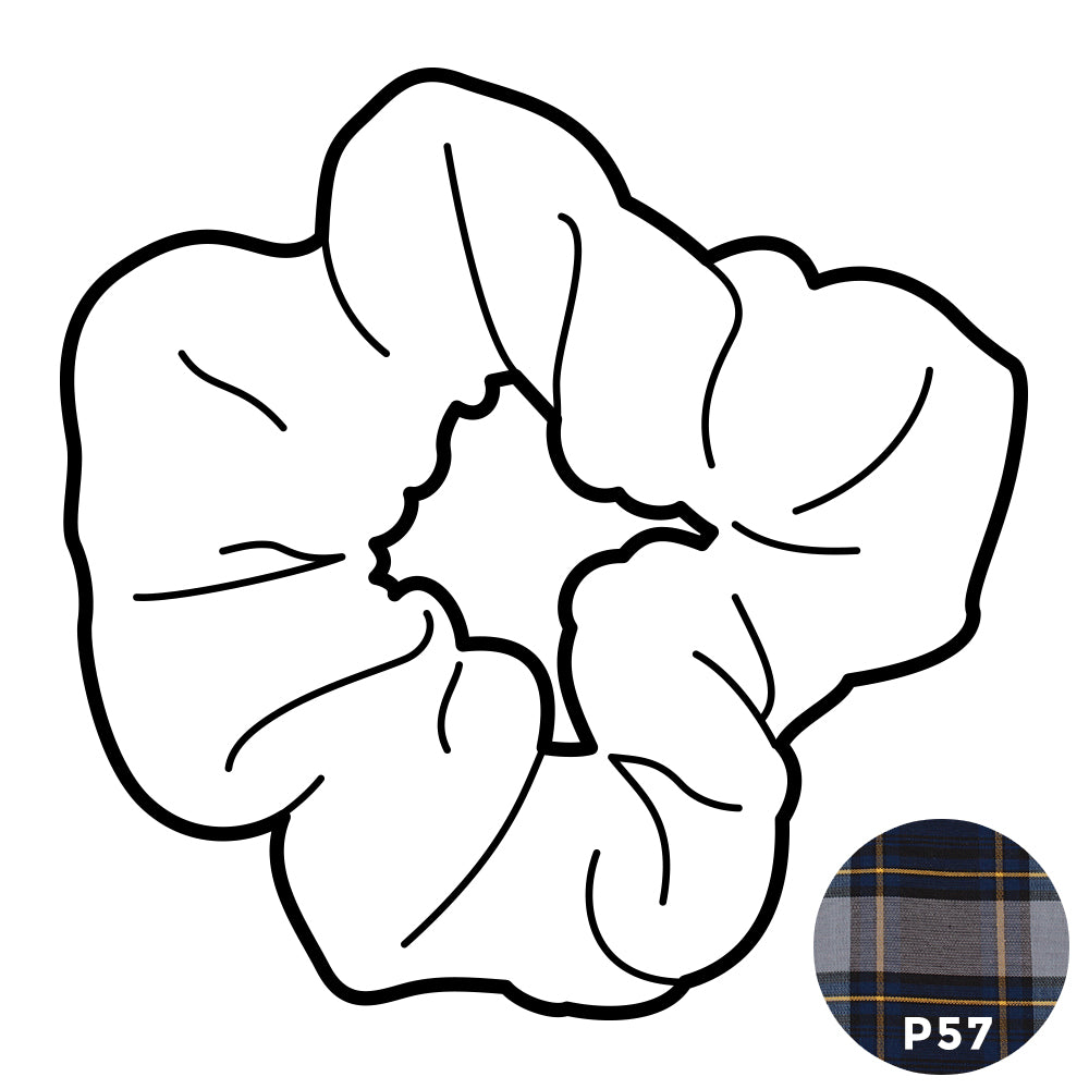 Scrunchie - Plaid #54
