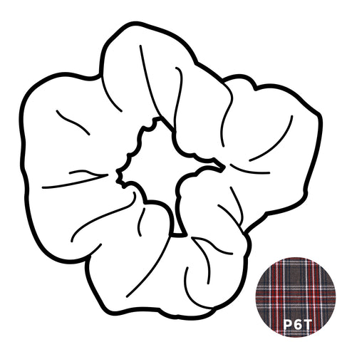 Scrunchie - Plaid #6T