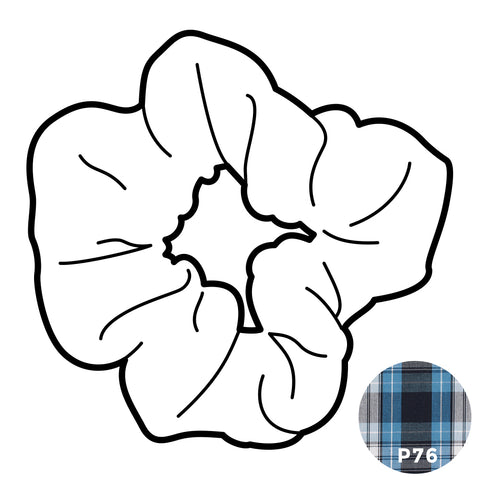 Scrunchie - Plaid #76