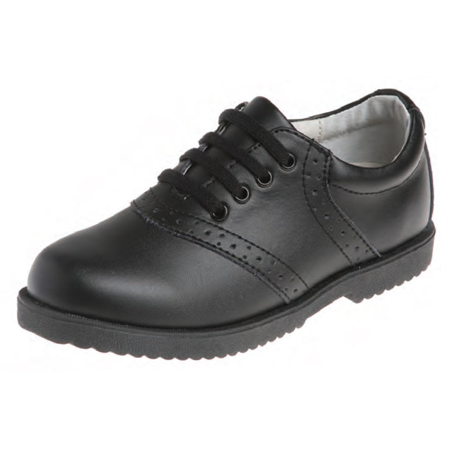 Girls Oxford Shoe - Black