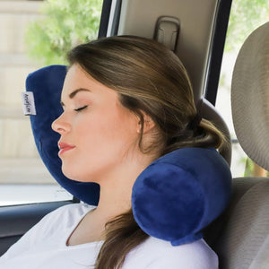 Flexible Travel Pillow that Is Comfy on Trips