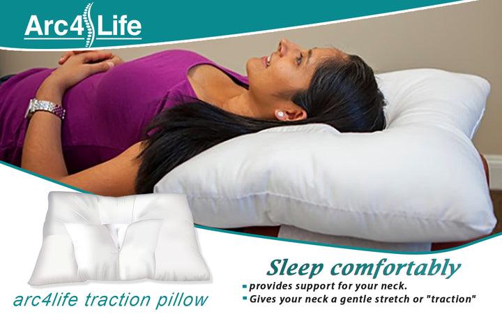 The Two Parts of the Arc4life Traction Pillow