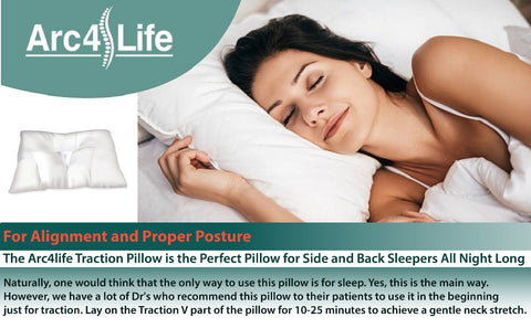 Side Sleeping with the Arc4life Traction Pillow