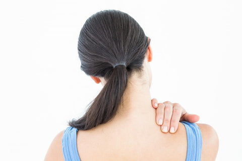 You can treat neck pain and muscle pain with a simple hot and cold pack + pain relief gel like sombra