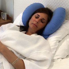 CosMed Recovery Neck Pillow for Back Sleeping (Includes Dust Cover)