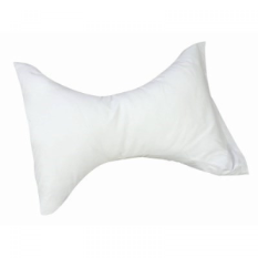 Hour Glass Cervical Rest Neck Pillow White