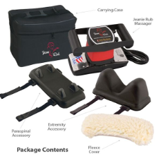 Deluxe Jeanie Rub Massager Kit