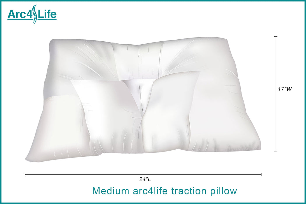 Arc4life Cervical Linear Traction Neck Pillow