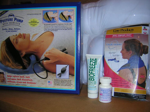 Neck Pain Relief Total Package