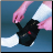 Power Wrap Ankle Brace Black